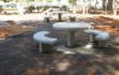 שולחן פיקניק נגיש ביער גבעתי