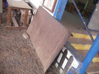 מדרגות ורמפה ניידת לתחנה אקולוגית