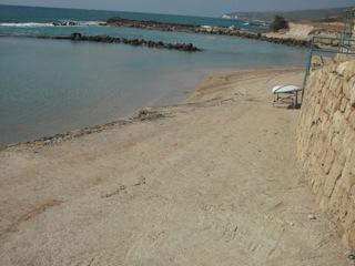 בחוף הרחצה