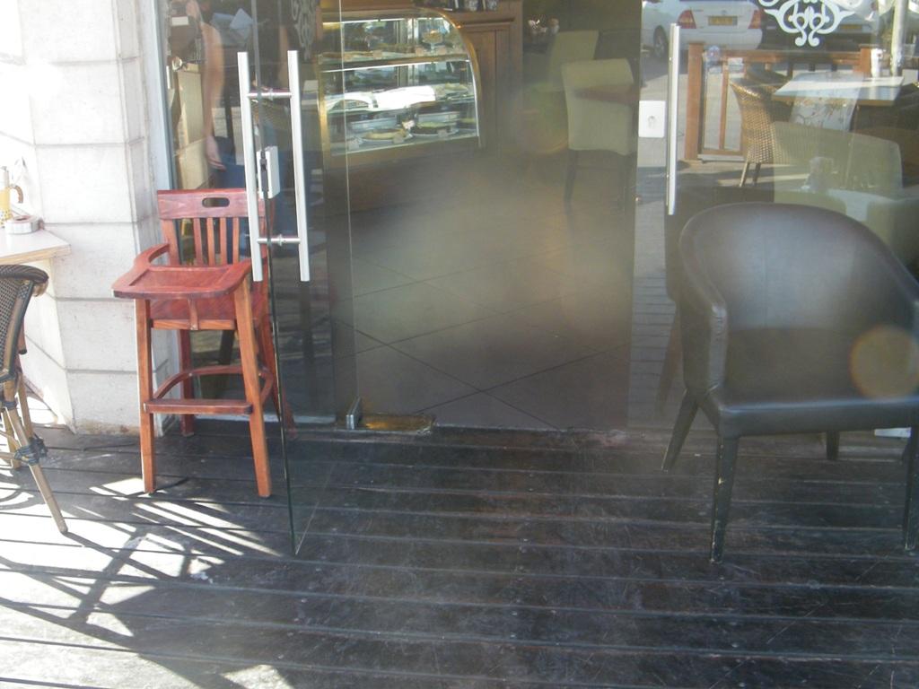 הכניסה לקפה גרג