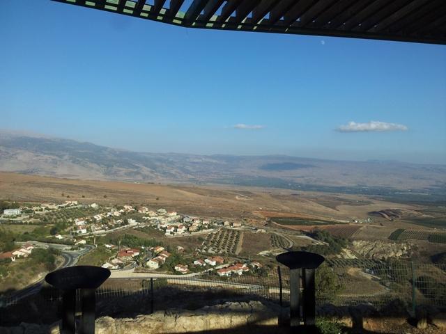 הנוף הנשקף מהמצפה