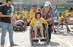 accessibility happening for children of a fabela