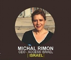 Michal Rimon, CEO of Access Israel