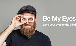 be my eyes- lend your eyes to the blind