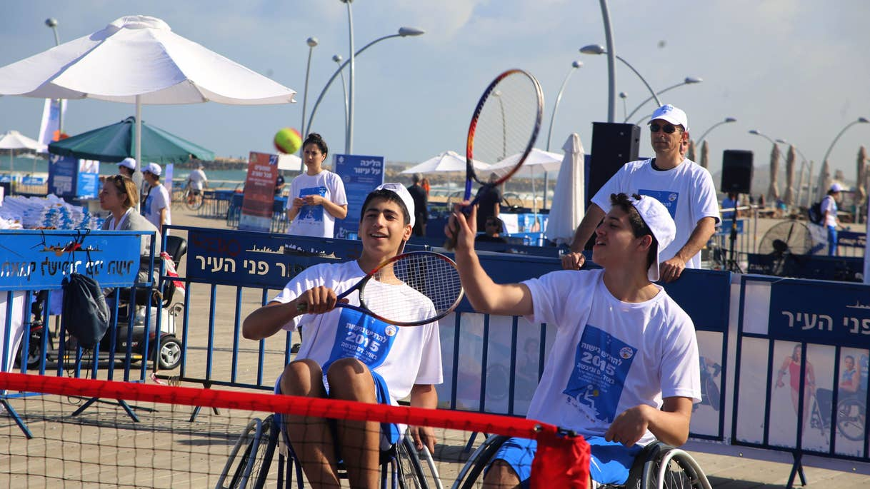 Accessible sports facilities in Tel Aviv