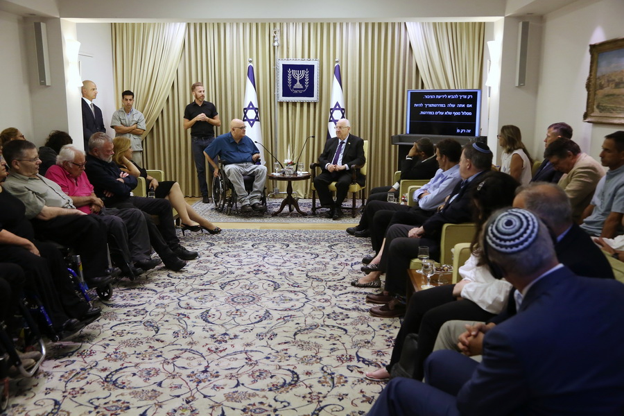 Access Israel's members were back at the President's Residence to celebrate the organization's 20th anniversary