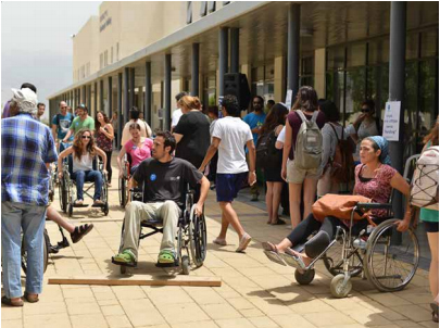students experience disabilities