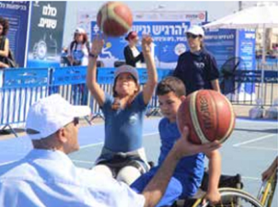 """Feeling Accessibility"" happening held by Access Israel at the Tel-Aviv port"