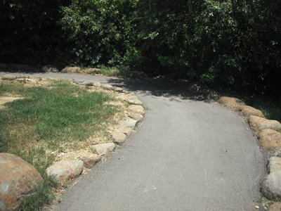 Pathway from Parking to the Park