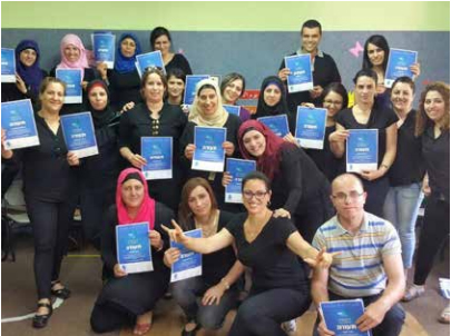 graduates of a sign language course